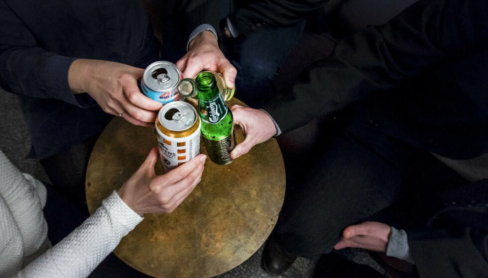 TROSSER ANBEFALNINGER: Velferdstinget og Studentsamskipnader melder om at studenter holder fester - stikk i strid med myndighetenes anbefalinger. Foto: Gorm Kallestad / NTB Scanpix