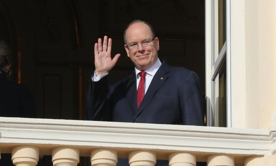 TESTET POSITIVT: Fyrst Albert av Monaco har fått påvist coronaviruset. Det er ikke kjent om resten av familien også er smittet. Foto: NTB Scanpix