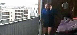 Løp maraton på balkongen
