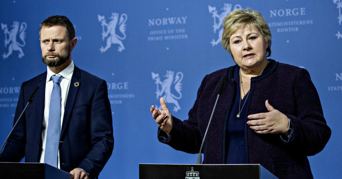 Erna Solberg om coronasmitten: - - Vi trodde vi hadde mye mer tid