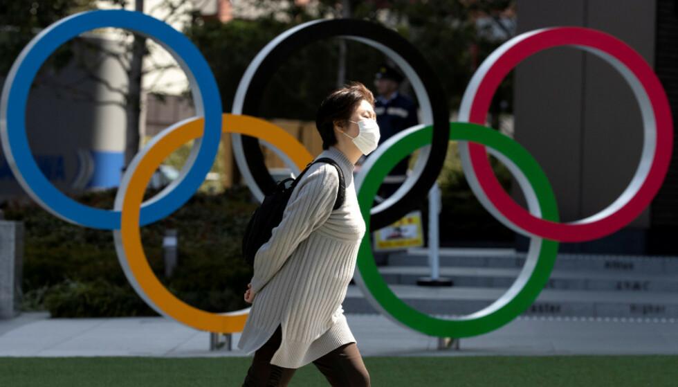 Mot OL-utsettelse: Flere og flere, blant dem Japans statsminister, sier nå at en utsettelse av OL er uunngåelig. Foto: NTB Scanpix