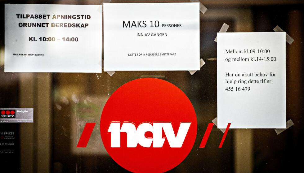 ØKER: Arbeidsledigheten i Norge har gått kraftig opp som følge av tiltakene for å begrense spredningen av coronaviruset. Foto: Bjørn Langsem / Dagbladet