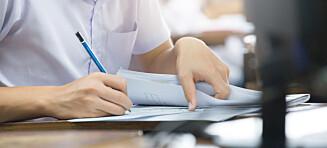Avlyser skriftlige eksamener