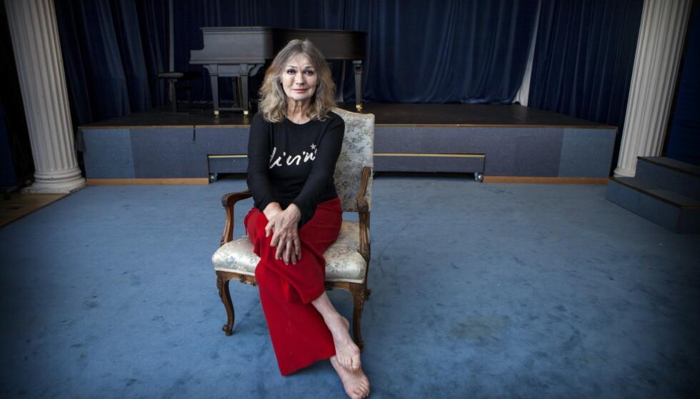 DØDE BRÅTT: Skuespiller, operasanger, danser og dj Kari Onstad, døde i går kveld. Foto: Anders Grønneberg