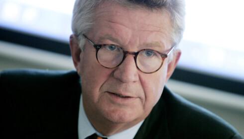 KRITISK: Professor Johan Giesecke, tidligere statsepidemiolog i Sverige og WHO-rådgiver, mener den norske regjeringen burde lytte til FHI. Foto: Bertil Ericson / TT NYHETSBYRÅN / NTB scanpix