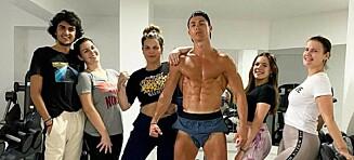 Freser av Ronaldo-bilde