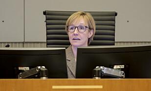 ALL MAKT: Helen Engebrigtsen ved Oslo tingrett har Y-blokkas skjebne i sine hender. Foto: NTB Scanpix