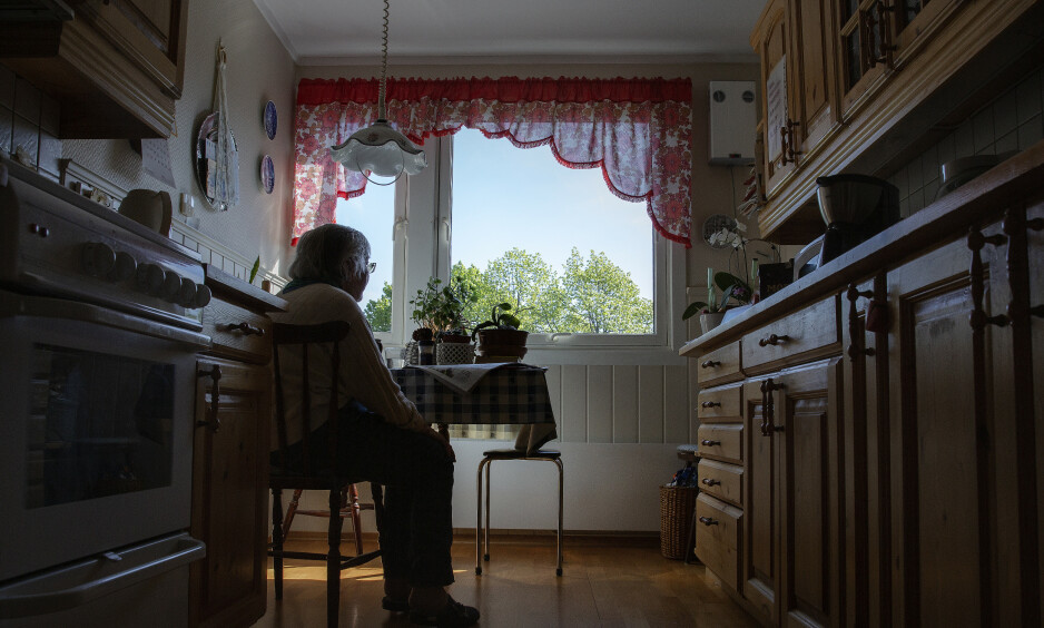 LENGRE DAGER: Corona-viruset gir mer alenetid til de som lever for tida de får sammen med andre. FOTO: Agnete Brun.