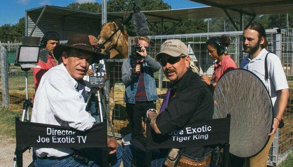 - KARMA: Rick Kirkham (t.v) angrer i dag på at han ikke prøvde å stoppe Joe Exotic. Foto: Privat