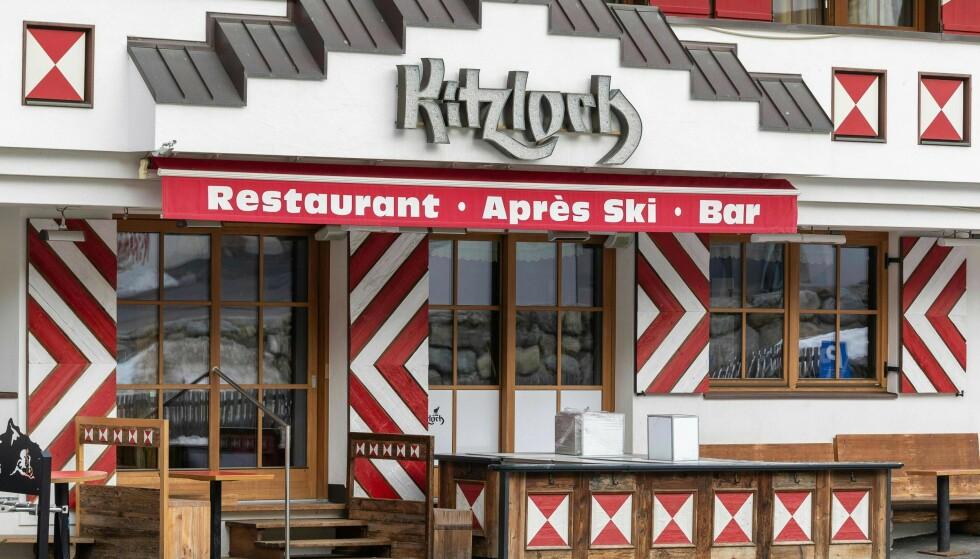 SMITTE-ELDORADO: Mange nordmenn som ble smittet på skiferie i Ischgl besøkte denne baren. Foto: JAKOB GRUBER / APA / AFP / NTB scanpix