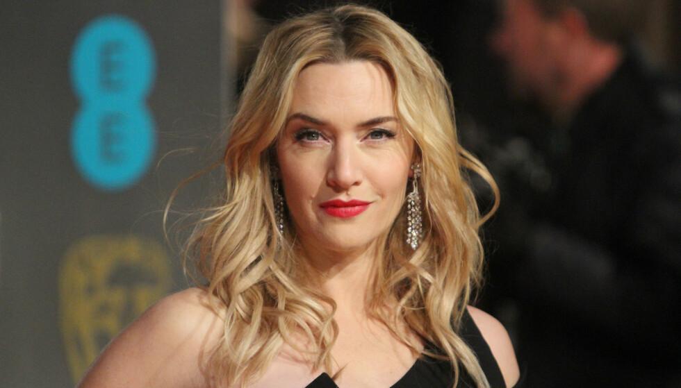 FØLTE SEG MOBBET: Kate Winslet ble et hett navn i Hollywood etter medvirkningen i «Titanic». Stjerna skal imidlertid ha kjent på mobbing, og opplevde det som tøft. Foto: Matt Baron / REX / NTB