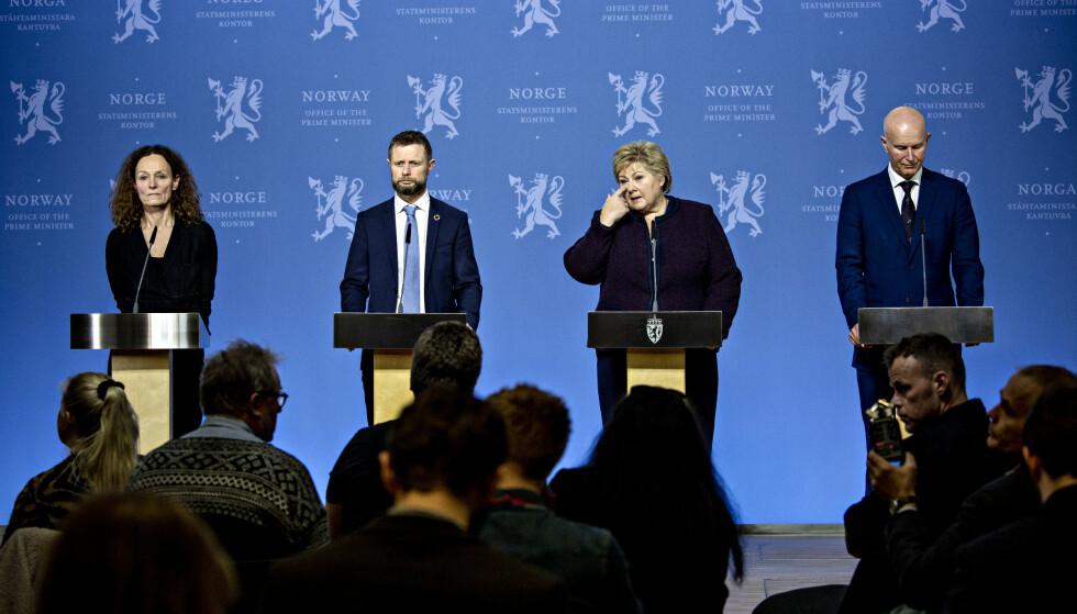 BESLUTNINGENE: I mars traff Helsedirektoratet og helsedirektør Guldvog beslutningene på vegne av regjereingen. Foto: Nina Hansen / Dagbladet