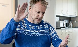 AVSTAND: Raymond Johansen ber folk holde avstand til hverandre. Foto: Lars Eivind Bones / Dagbladet