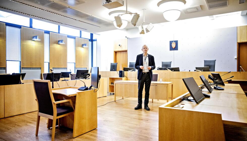 Sorenskriver Yngve Svendsen i Oslo. Foto: Nina Hansen / DAGBLADET