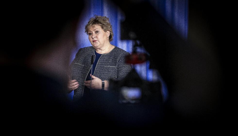 STOR TILLIT: Erna Solberg og regjeringen har stor tillit i håndteringen av coronakrisa. Foto: Bjørn Langsem/Dagbladet