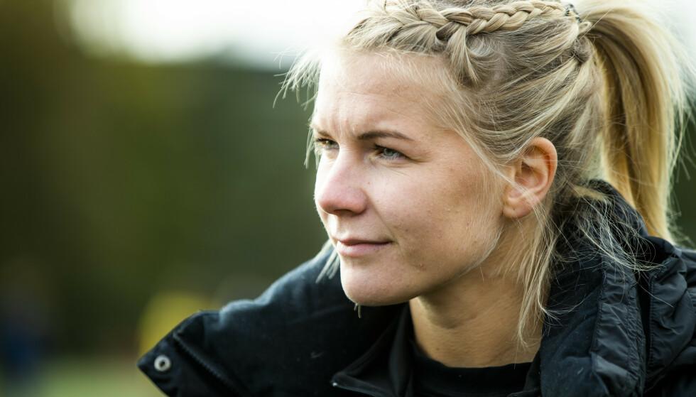 VARSKO: Ada Hegerberg er klar på en ting: Damefotball må ikke miste posisjonen sin i viruskaoset. Foto: Berit Roald / NTB scanpix