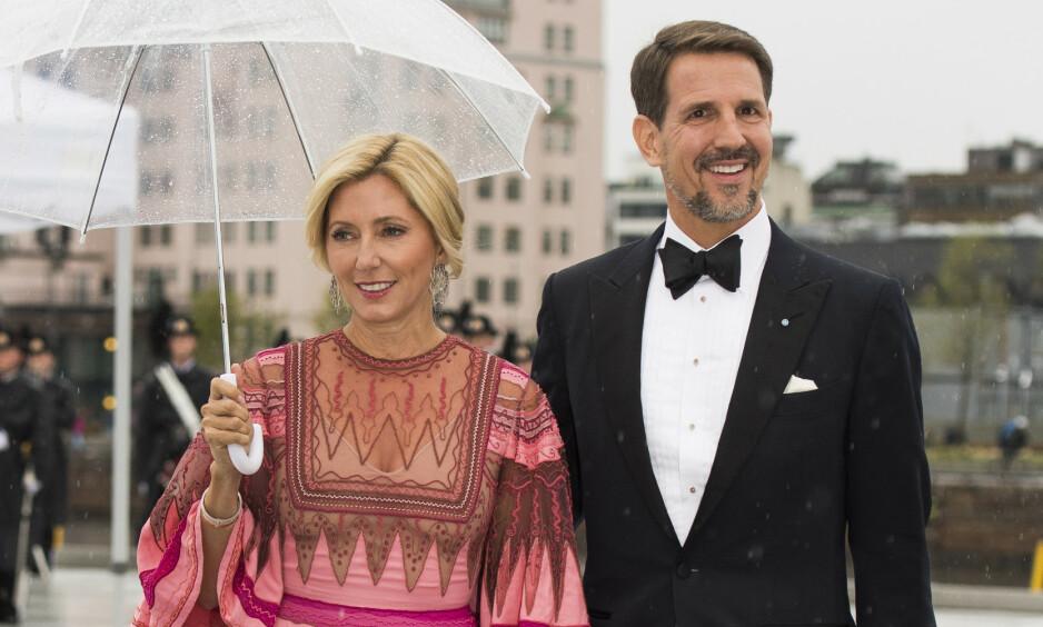 KONGELIG: I 1995 giftet amerikanske Marie-Chantal Miller seg med kronprins Pavlos av Hellas og Danmark. Men det var ingen selvfølge at nettopp de to skulle ende opp sammen. Foto: NTB Scanpix