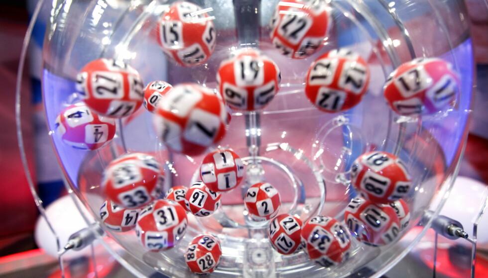 VANT: En mann fra Arendal har vunnet over 15 millioner kroner i Lotto. Foto: Gorm Kallestad / NTB scanpix