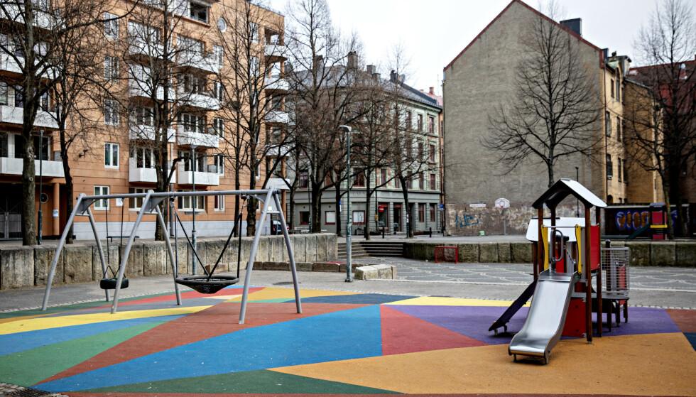 GJENÅPNING: Fra og med onsdag kan barnehager i Danmark gjenåpnes. Foto: Nina Hansen / Dagbladet