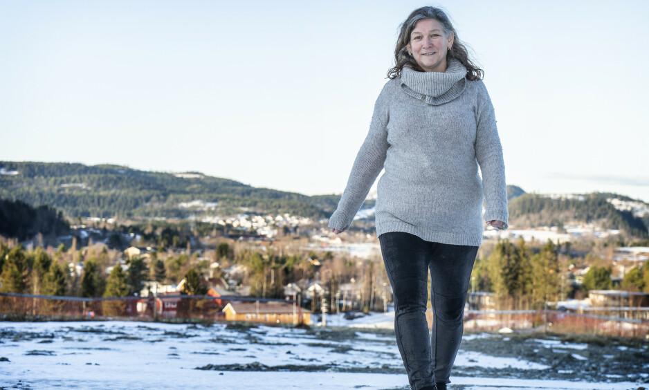 LETTERE: Solveig Bye er 10 kilo lettere enn da hun startet slankekuren.