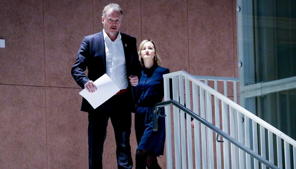 UNDER PRESS: Skolebyråd Inga Marte Thorkildsen har stått i sterk kritikk denne uka, etter en rekke oppslag i Dagbladet. Foto: Bjørn Langsem / Dagbladet