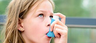 Barnelegens beste råd til astma-barn nå