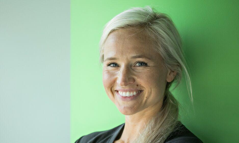TVILLINGER: Inger Houghton og ektemannen venter tvillinger, og røper flytteplaner. Foto: Jørn H Moen / Dagbladet