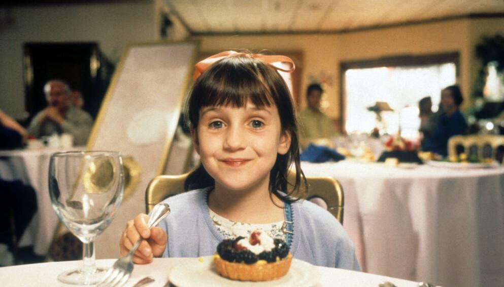 BLE VERDENSSTJERNE: Mara Wilson spilte i filmen «Matilda» i 1996, og snakker nå ut om hvordan hun opplevde mediastormen som bitte liten. Foto: Shutterstock Editorial / NTB