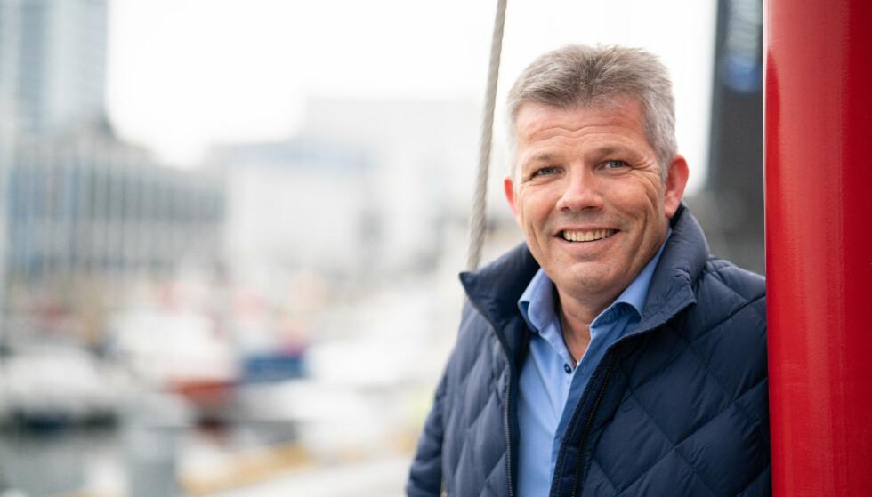KRISE: Nestleder Bjørnar Skjæran i Arbeiderpartiet etterlyser regjeringens tiltak mot krisen i olje- og gassindustrien. Det grønne skiftet vil aldri skje uten selskapene som i dag driver med petroleum, advarer han. Foto: Preben Hunstad