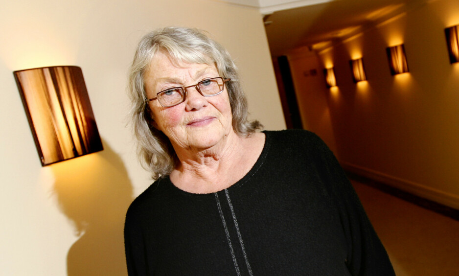 DØD: Forfatter Maj Sjöwall er død. Her er hun fotografert i 2007. Foto: NTB scanpix
