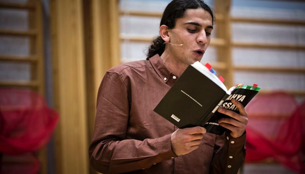 DØD: Den danske poeten Yahya Hassan er død, 24 år gammel. Foto: NTB scanpix