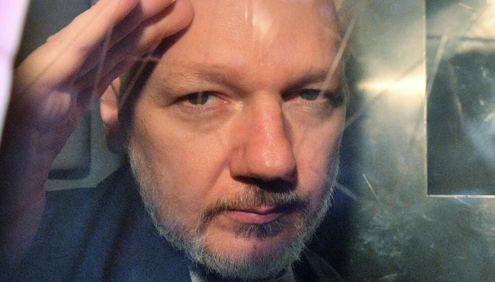 DELVIS SEIER: Retten mener handlingene Assange har begått ikke beskyttes av retten til ytringsfrihet. FOTO: AFP / NTB