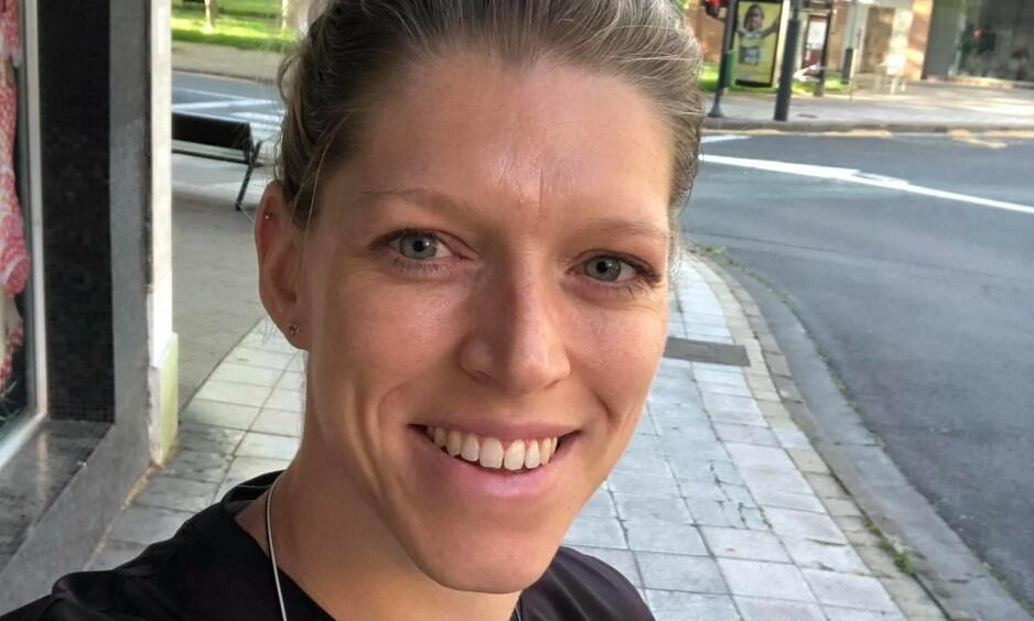 ENDELIG «fri»: Line Johansen fikk lørdag lov til å gå utendørs i de spanske gatene igjen. Foto: Privat / Line Johansen