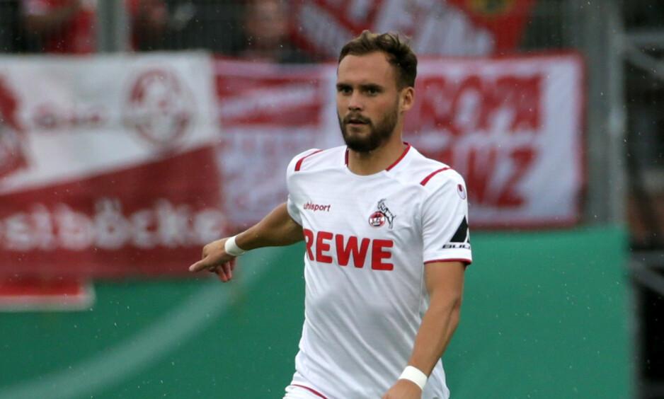 KRITISK: Köln-spiller Birger Verstraete synes ikke at tiltakene har vært gode nok for spillerne. Foto: Pixathlon / Shutterstock / NTB Scanpix