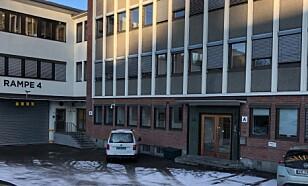 INGEN KLINKK: Slik ser det ut på adressen til Oslo Skin lab. Det finnes ingen fysisk hudklinikk eller skjønnhetssalong som heter Oslo Skin Lab. Foto: Trine Høklie Jonassen