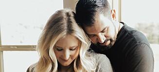 Gravid etter sønnens tragiske bortgang