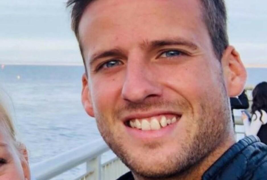 SURFER: Det var surferen Ben Kelly (26) som døde i et haiangrep i California på lørdag. Foto: Privat