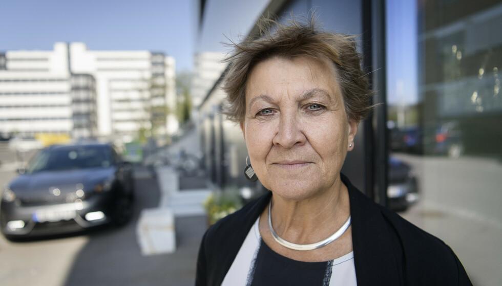 BEKYMRET: Fagforbundets leder, Mette Nord, ber Bent Høie snarest få orden på vaksinasjonen på norske sykehus. Foto: Lars Eivind Bones / Dagbladet