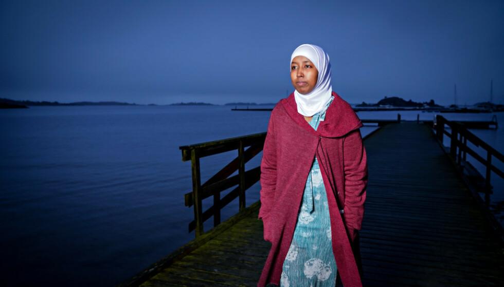 TIL EMDS STORKAMMER: Mariya (26) kom til Norge som 16 år gammel flyktning. Sønnen hennes ble adoptert bort til fosterforeldre. Foto: Sondre Transeth