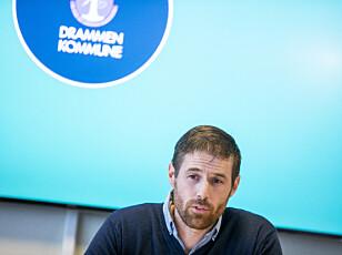 TESTER UT: Smittevernoverlege Einar Sagberg i Drammen leder testarbeidet i kommunen. Foto: NTB Scanpix
