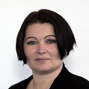 TESTER UT: Områdedirektør Gun Peggy Knudsen har ansvaret for smitteappen i FHI. Foto: FHI
