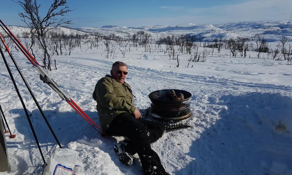 VENTER PÅ OPERASJON: Turglade Kåre Breivik fra Tana venter på hjerteoperasjon for å lukke hullet mellom hjertets skillevegger. Til høsten ventes nye retningslinjer for hvem som skal få slik behandling. Foto: Privat.