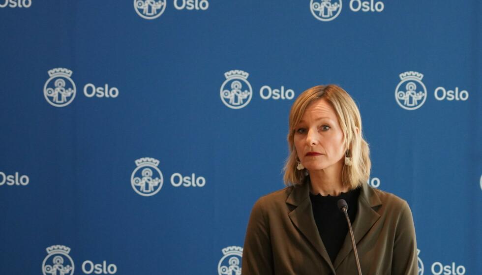 BRÅK: Situasjonen i Oslo-skolen bekymrer flere etter Dagbladets avsløringer. Byråd Inga Marte Thorkildsen må nå forvente full gjennomgang av sektoren hun styrer. Foto: Ole Berg-Rusten / NTB scanpix