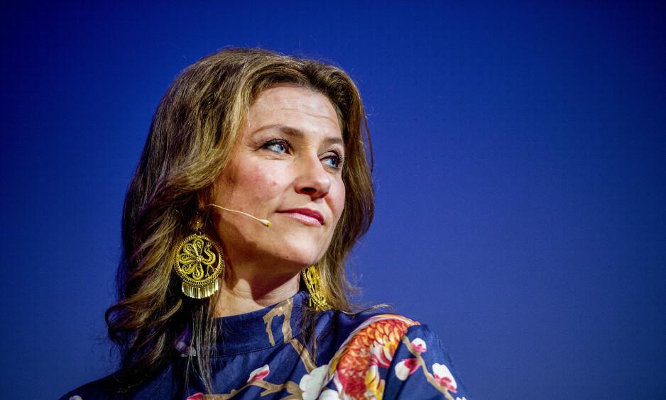 MEDITASJONSARRANGEMENT: Märtha Louise omtales som «prinsesse av Norge», til tross for at hun ikke skal bruke tittelen utenfor offisielle oppdrag for kongehuset. Foto: NTB scanpix