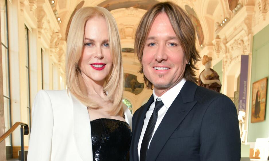 BRUDD: Etter at det ble kjent at Hollywood-stjerna Nicole Kidman hadde brukket ankelen sin er det flere som har lurt på hvordan ulykken fant sted. Nå forklarer ektemannen Keith Urban hendelsesforløpet. Foto: NTB Scanpix