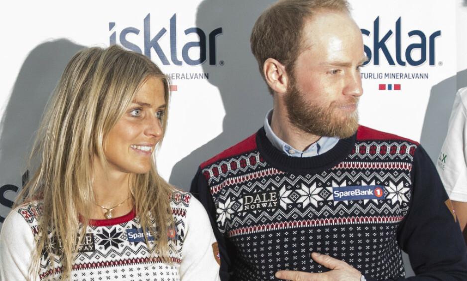 HEDERSPRIS-DEBATTEN: Martin Johnsrud Sundby og Therese Johaug har gitt de norske hedersprisene et stort dilemma. Foto: Berit Roald / NTB scanpix