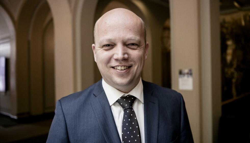 FÅR KRITIKK: Trygve Slagsvold Vedum oppfordrer nordmenn til å handle norske varer. Foto: Lars Eivind Bones / Dagbladet