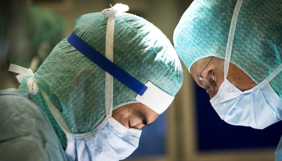 KRISE: NTNU-professor Sven Erik Gisvold er kritisk til det han kaller en nedbygging av sykehuskapasiteten over flere år. Illustrasjonsfoto: Gorm Kallestad / NTB Scanpix