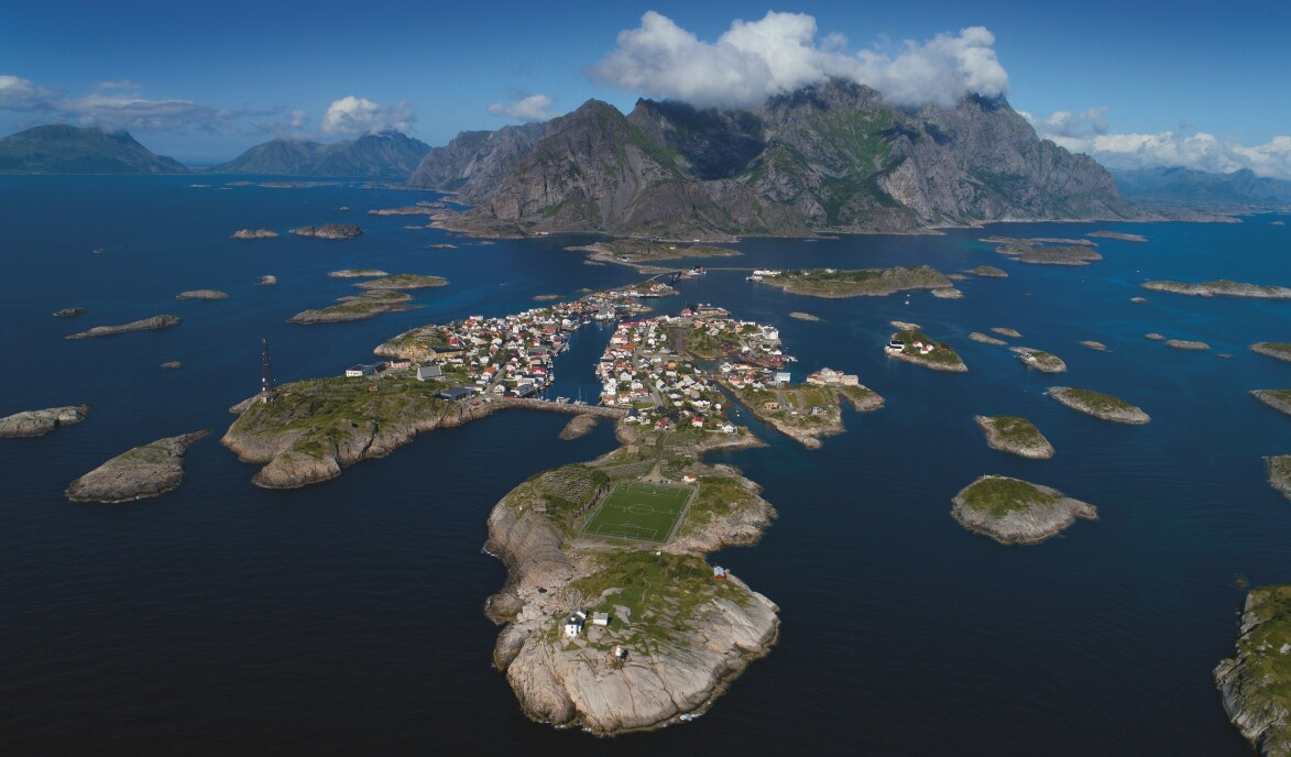 HENNINGSVÆR: Foto: Magne Klann/Bobilguiden