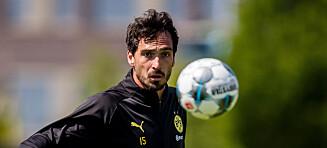 Tung Dortmund-beskjed